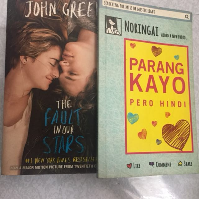 THE FAULT IN OUR STARS AND PARANG KAYO PERO HINDI