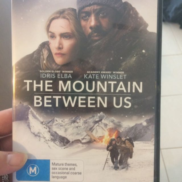 The Mountain between us DVD
