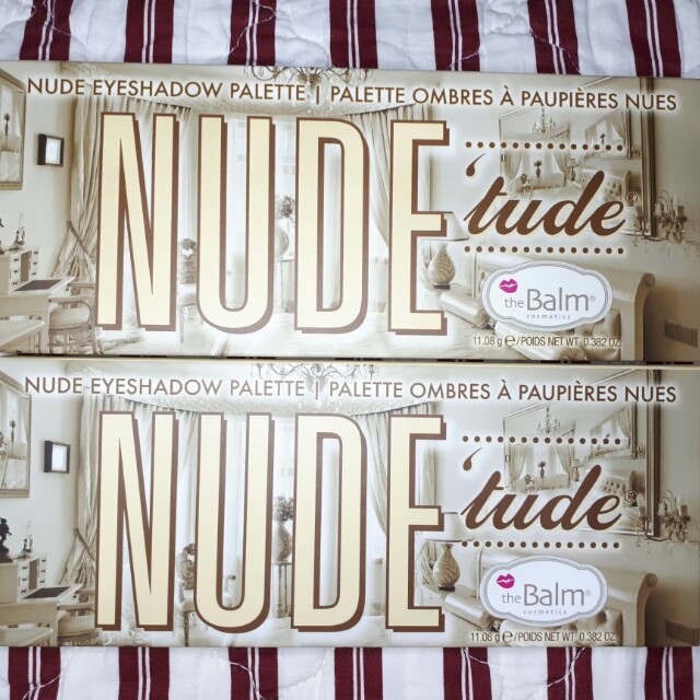 The Balm NudeTude Eyeshadow Palette