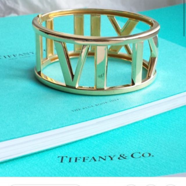 Tiffany&Co Atlas Bangle Jewellery (latest collection)