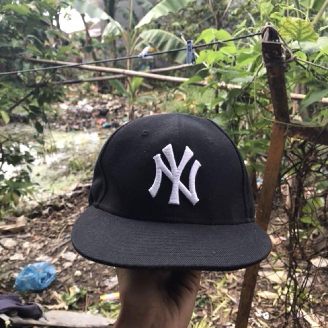 Topi Baseball Cap Snapback NY MLB