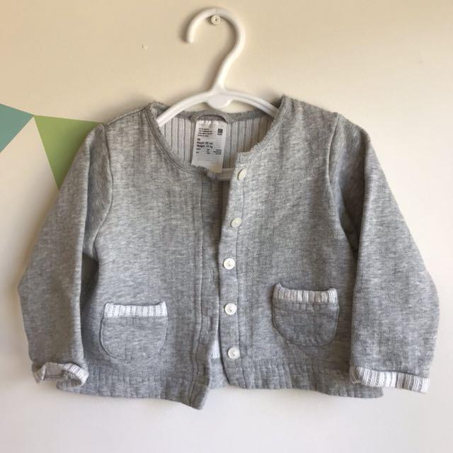 Uniqlo Girl Grey Jumper