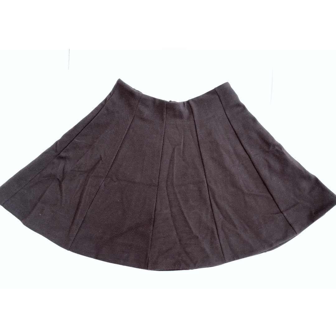 Urban outfitters Kimchi blue high waisted black a-line skirt