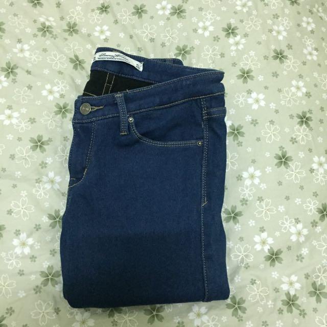 加厚牛仔褲w28