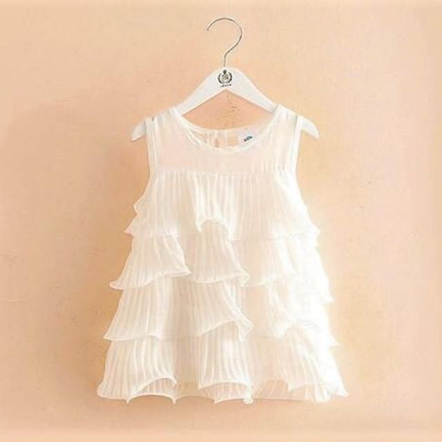 Wave baby girl dress