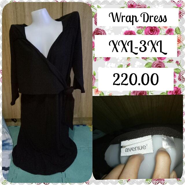 Wrap Dress(3xL)