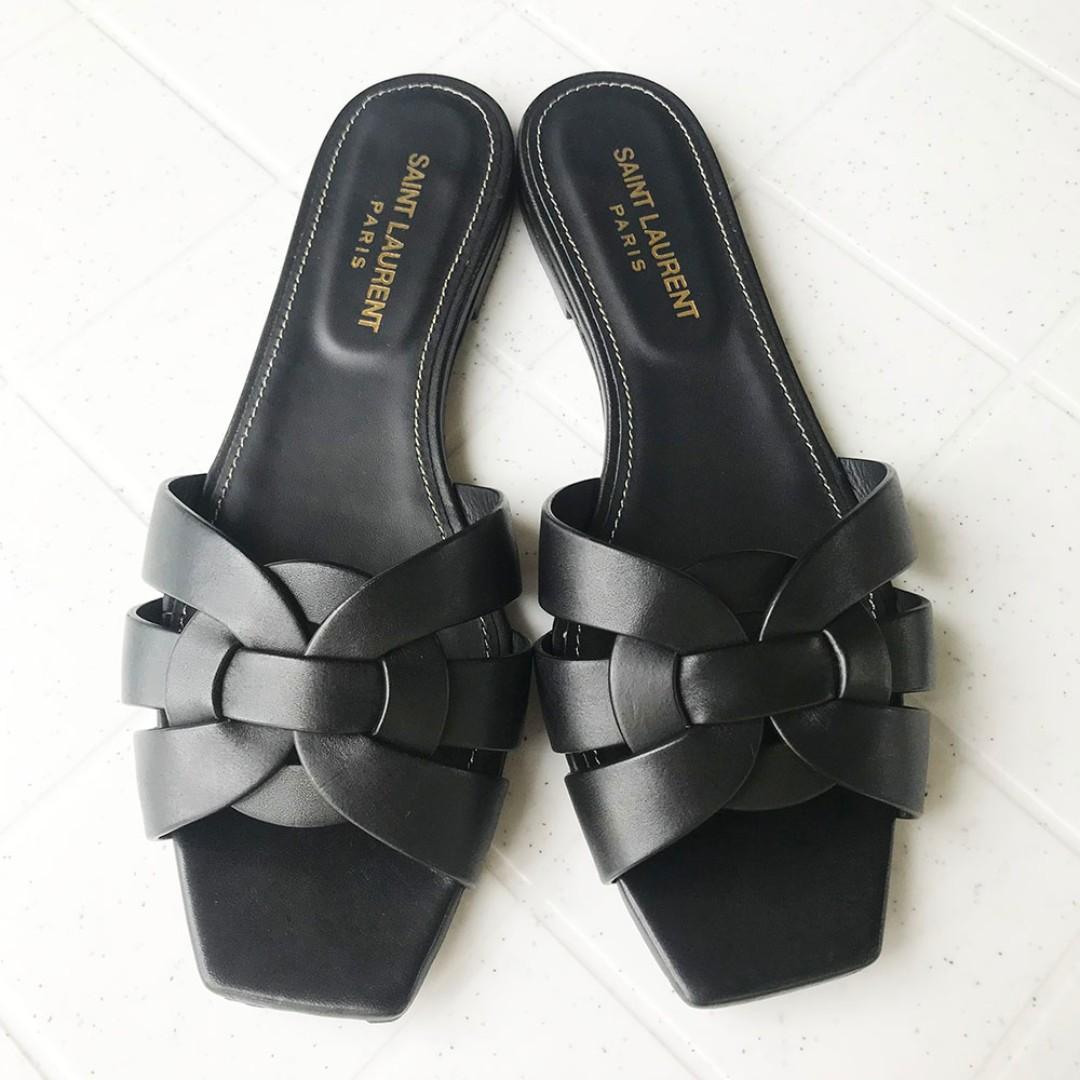 0983e0c1be5b YSL Nu Pieds 05 Saint Laurent Nu Pieds 05 Sandal Black Size 37 Size ...