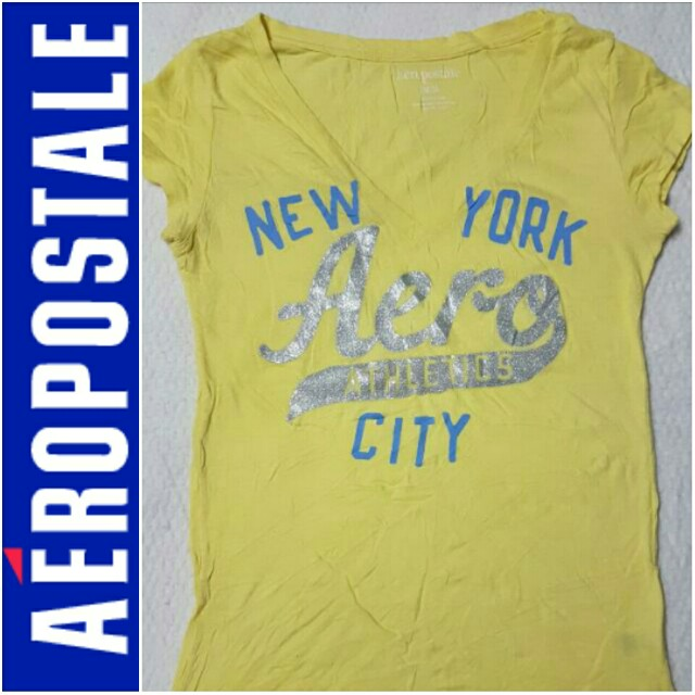 -Yunik- Authentic Aeropostale Printed Tee