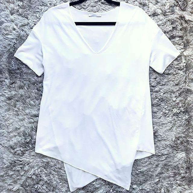 Zara Asymmetrical Top (S)