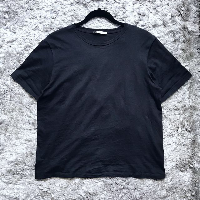 Zara Basic Black Top (M)