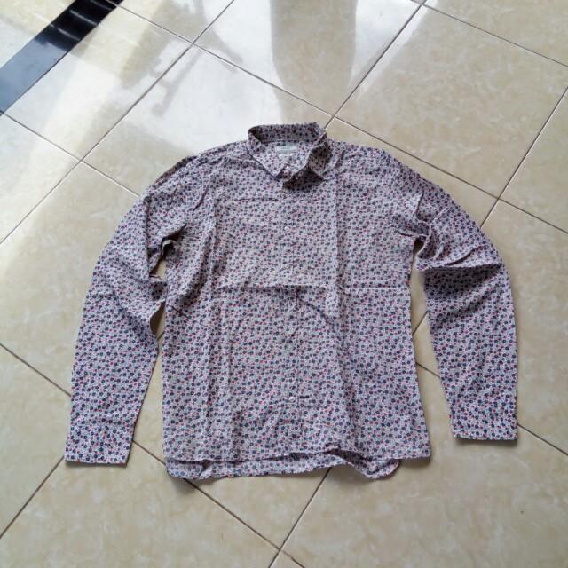 Zaraman Shirt Flower Pattern