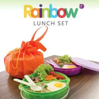 Rainbow Lunch Set of 3