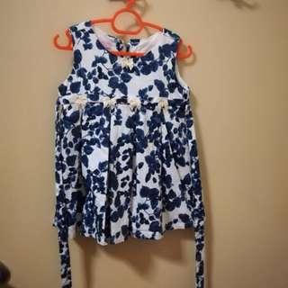 Lovely Lace Baby Dress Size L