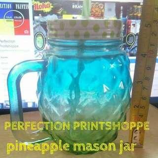 PINEAPPLE MASON JAR