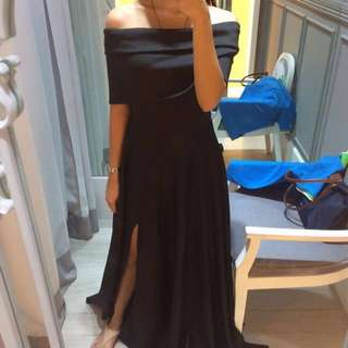 Apartment 8 Clothing Cyrene Black Maxi Dress