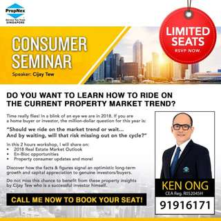 Singapore Property Consumer Seminar 2018