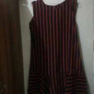 Mini dress salur