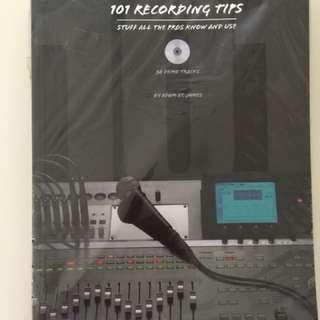 101 recording tips include 30 demo tracks