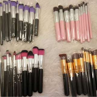 Kabuki brush set (10pcs)