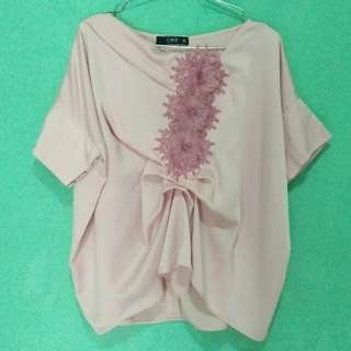 AMR The Label Kaftan Top Pink. | Aora Top