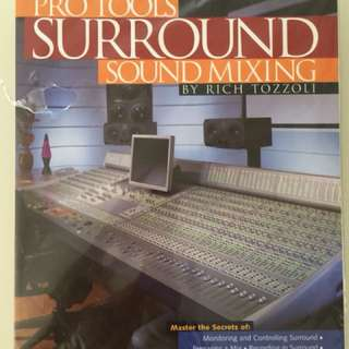 Pro Tools Surround Sound mixing by Rich Tozzoli include dvd