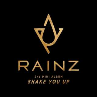 Rainz - Shake You Up (2nd Mini Album)