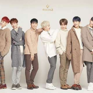 [NON-PROFIT G.O] RAINZ 2nd Mini Album Shake You Up