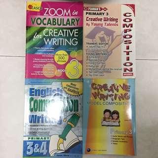 P3 English Oral & Creative Writing Books