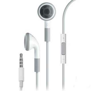 Apple Headphones with Remote and Mic
