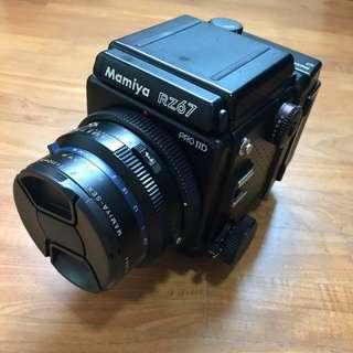 Mamiya RZ67 Pro IID + Sekor Z 110 F2.8