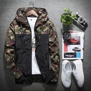 Camouflage Camo Summer Windbreak Jacket (BNIP)