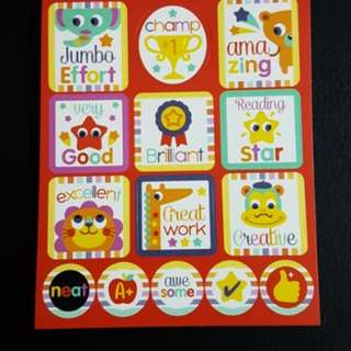 (N8) BN Reward/Merit Stickers