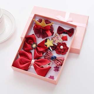 10pcs Elegance Hair Clip in a Gift Box