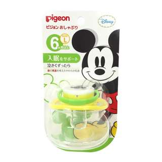 Japan PIGEON Calming Pacifier 6m+ (Mickey L size)