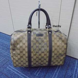AUTHENTIC GUCCI SPEEDY BOSTON TOTE BAG