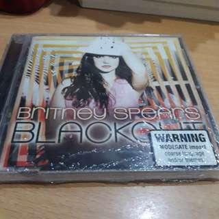 Britney Spears Blackout CD Album