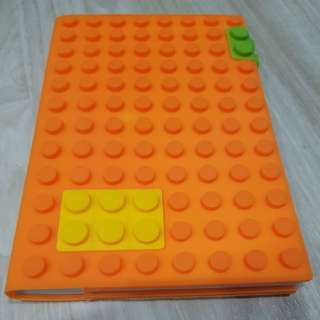 A5 Lego Blocks Notebook with Silicone Cover