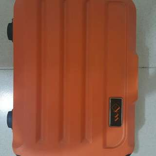 Orange luggage from HK (360° tire)