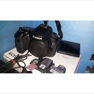 Canon 60d  body 機身 盒裝標準配件