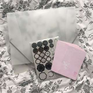 Stationary bundle from Anna Suyi, paperchase and ikea
