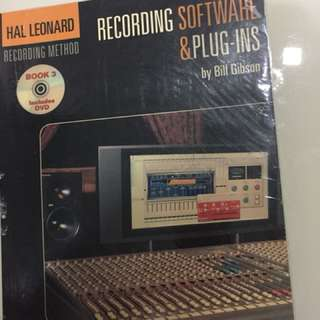 Recording software & plug-ins by Bill Gibson include dvd