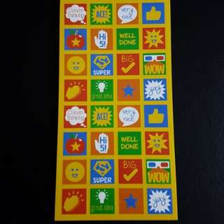 BN Merit Stickers