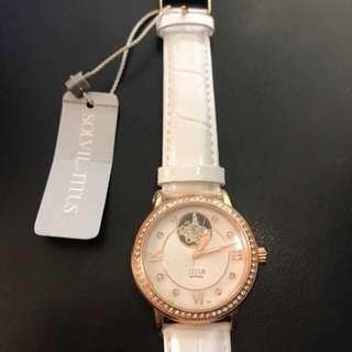 titus 透明機芯 機械錶