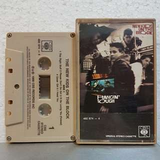 Cassette》 The New Kids On The Block - Hangin' Tough