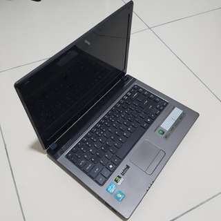 Acer Aspire 4750G with 120GB SSD
