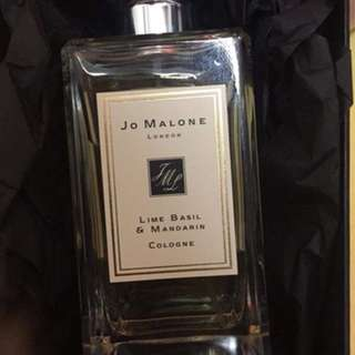Jo Malone Colgne Lime and Basil