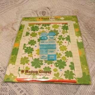 Happy Clover 信紙