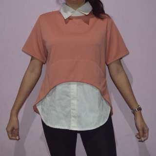 ADA WOMEN- Peach Blouse
