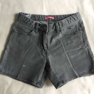 uniqlo kids grey shorts