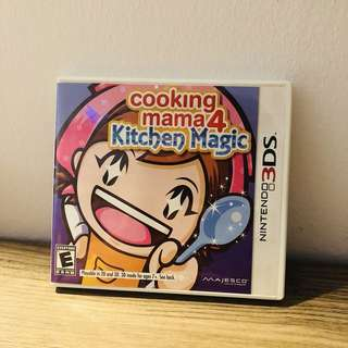 Nintendo 3DS Game - cooking mama 4